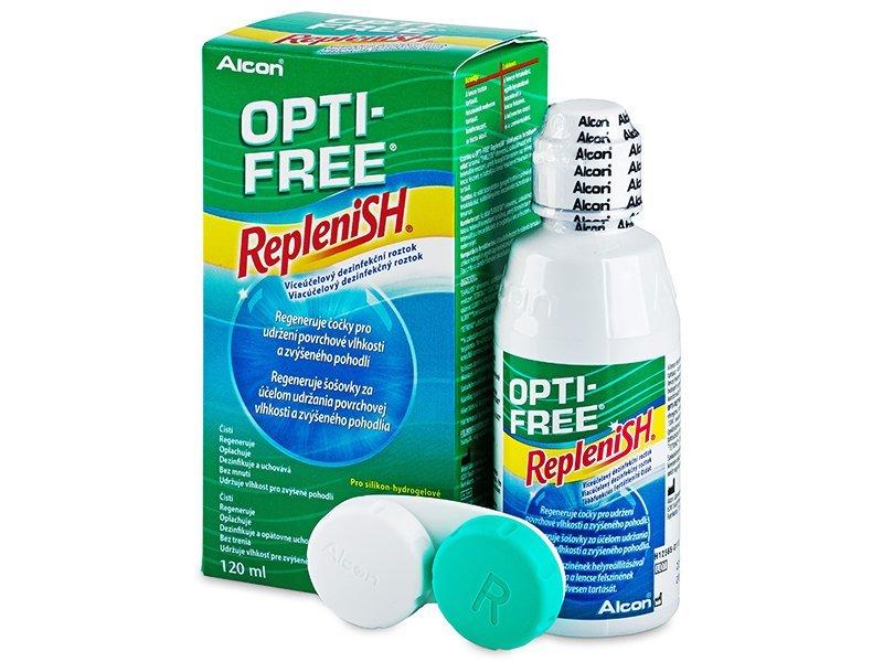 Soluzione OPTI-FREE RepleniSH 120 ml  - Soluzione unica