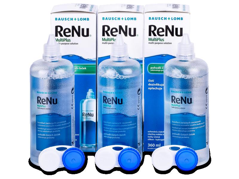 Soluzione ReNu MultiPlus 3x360ml  - Economy 3-pack - solution