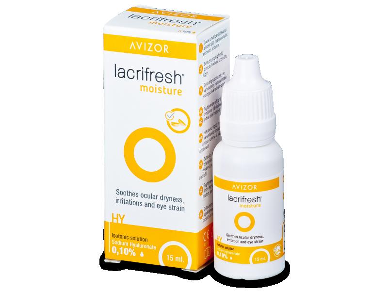 Gocce oculari Lacrifresh Moisture 15ml  - Precedente e nuovo design