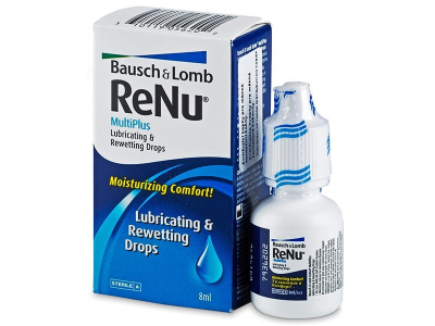 Gocce oculari ReNu MultiPlus Drops 8 ml  - Precedente e nuovo design