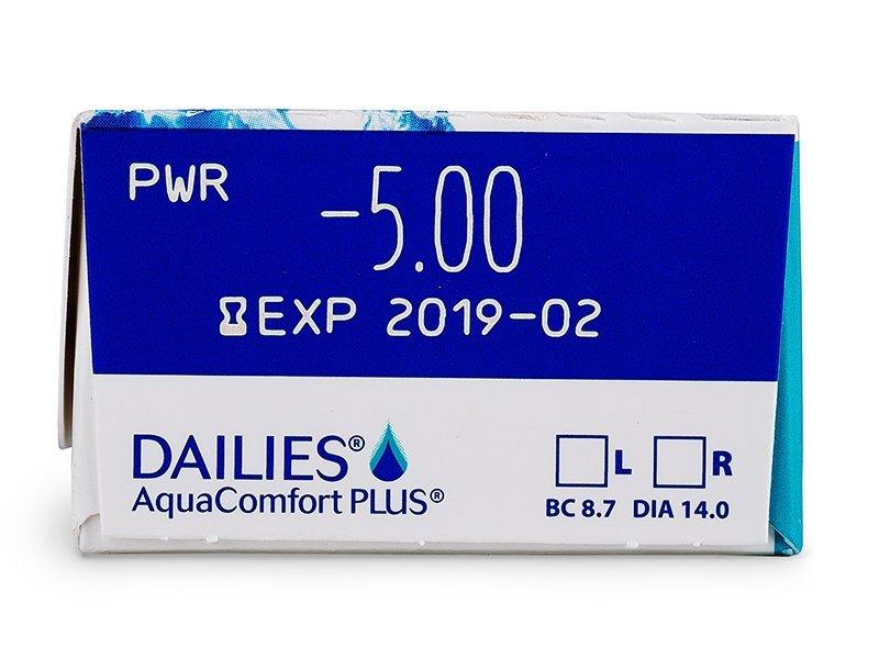 Dailies AquaComfort Plus (30lenti) - Caratteristiche generali