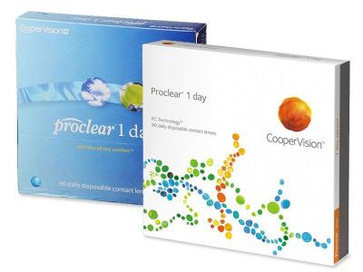 Proclear 1 Day (90lenti) - Precedente e nuovo design