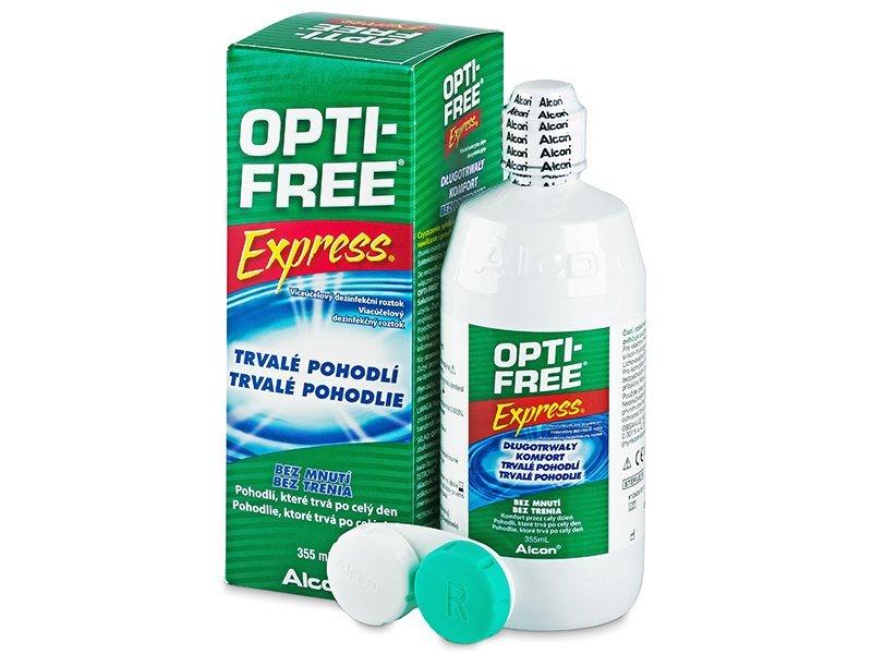Soluzione OPTI-FREE Express 355ml  - Precedente e nuovo design