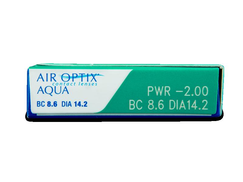Air Optix Aqua (6lenti) - Caratteristiche generali