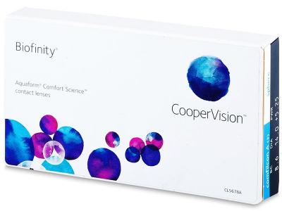 Biofinity (3lenti) - Lenti a contatto mensili