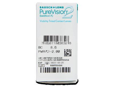 PureVision 2 (6lenti) - Caratteristiche generali