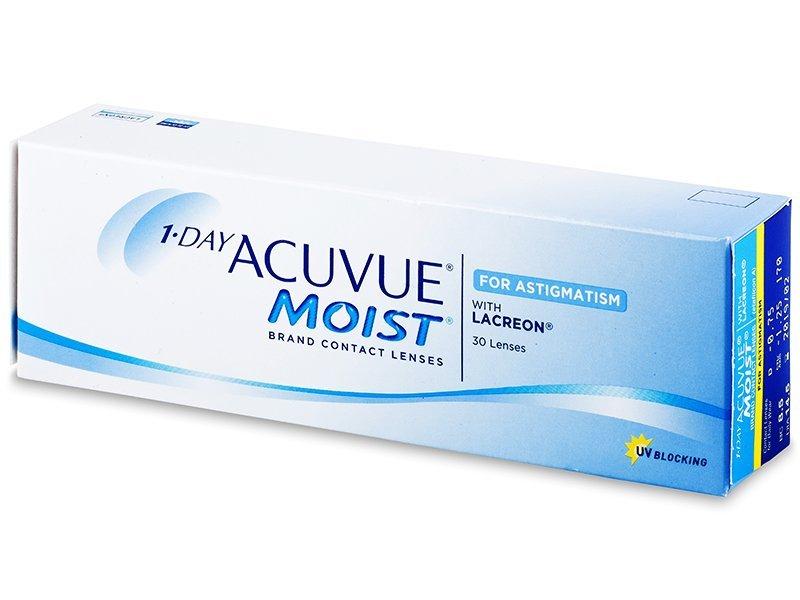 1 Day Acuvue Moist for Astigmatism (30lenti) - Lenti a contatto toriche