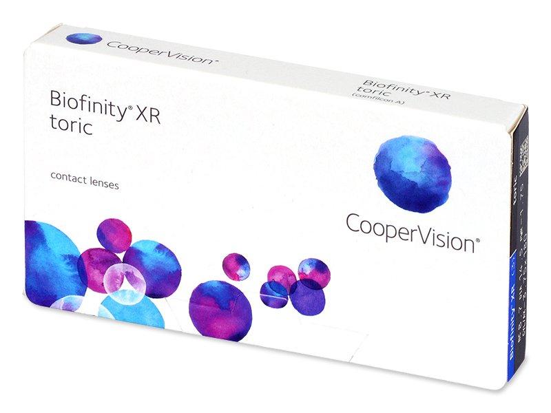 Biofinity XR Toric (3 lenti) - Lenti a contatto toriche