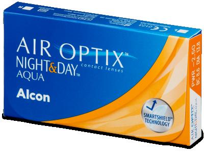 Air Optix Night and Day Aqua (3lenti) - Lenti a contatto mensili