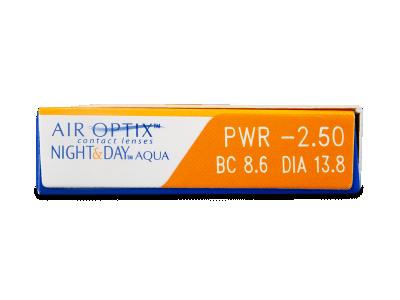 Air Optix Night and Day Aqua (3lenti) - Caratteristiche generali